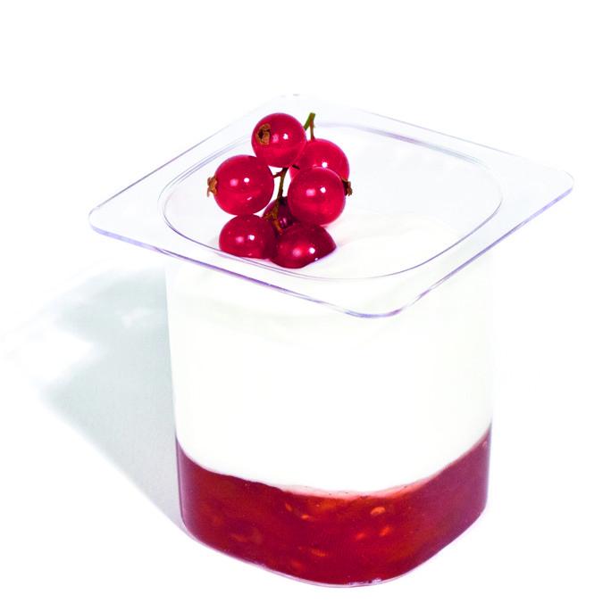 200 pots de yaourt en plastique 13cl flo. Black Bedroom Furniture Sets. Home Design Ideas