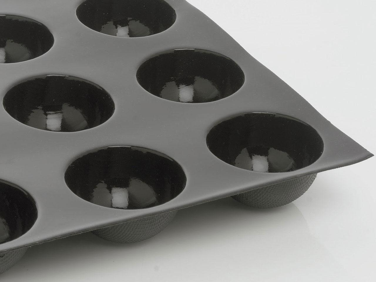 moule flexipan 24 demi sph res 7 cm 60 x 40 cm demarle. Black Bedroom Furniture Sets. Home Design Ideas