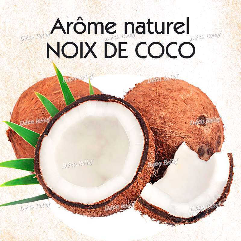 arome naturel noix de coco 30 ml deco relief. Black Bedroom Furniture Sets. Home Design Ideas