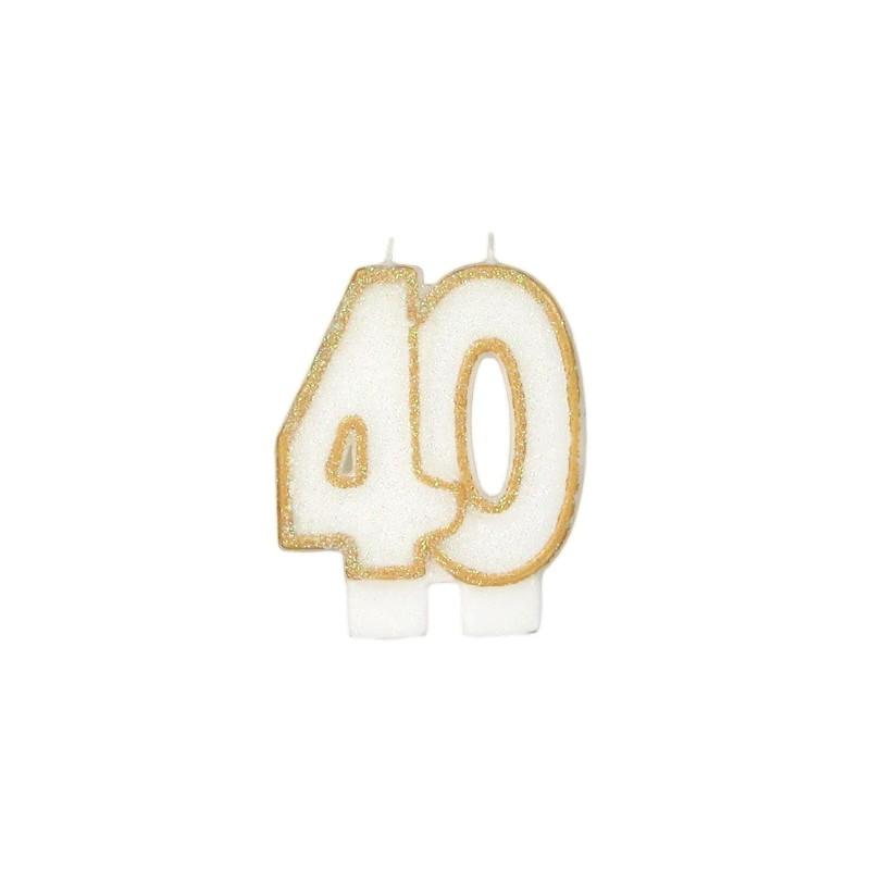 Bougie D Anniversaire 40 Ans Autre