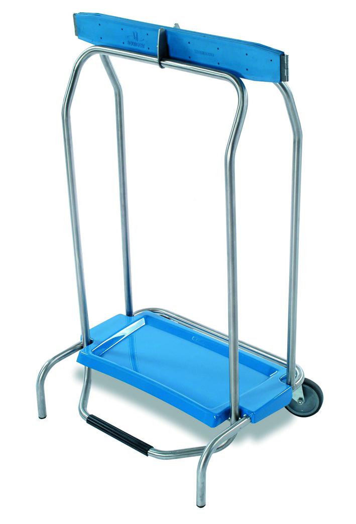 Chariot porte sac poubelle clic clac matfer for Mise en place chariot femme de chambre