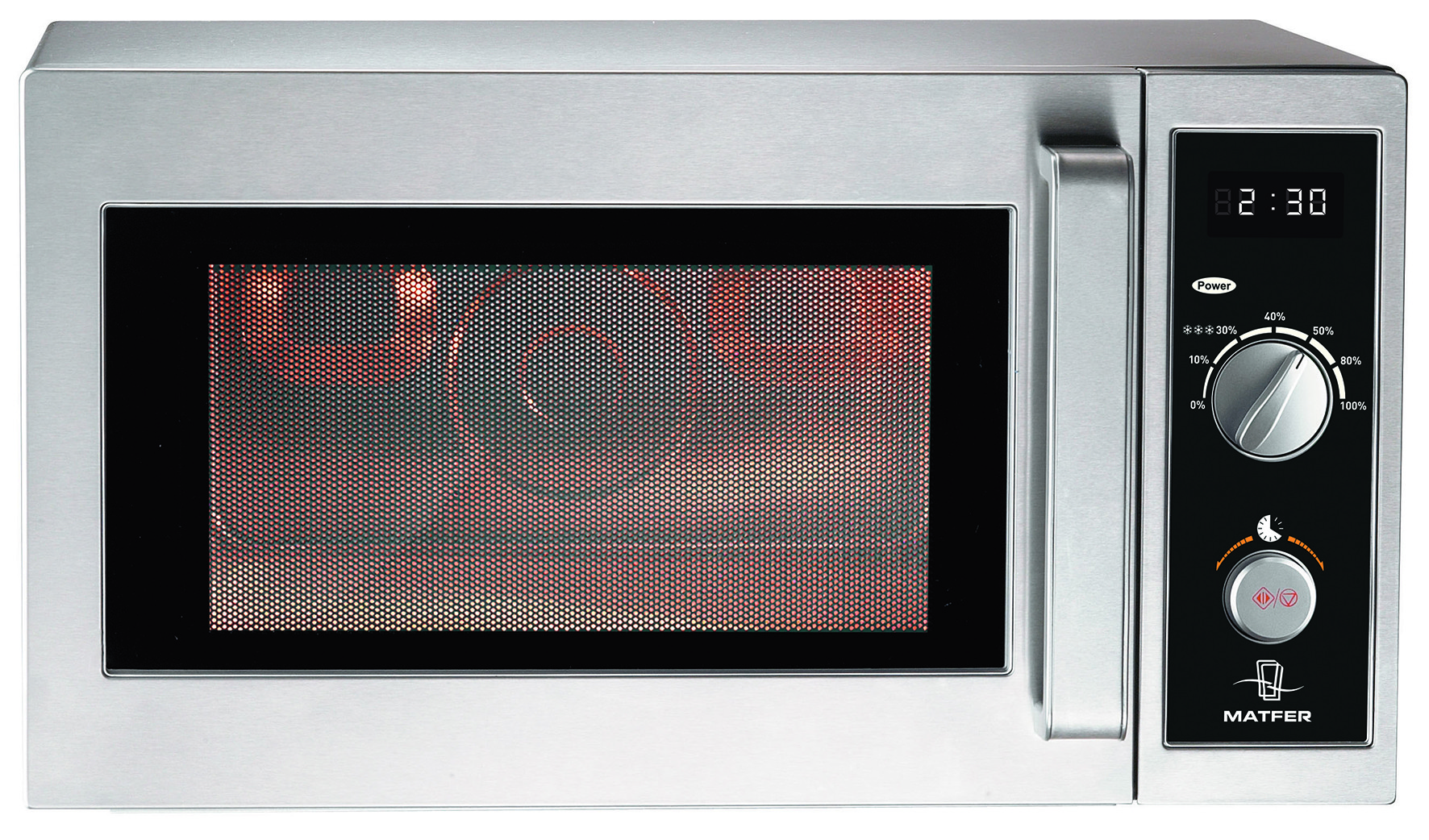 four micro ondes 25 litres en inox matfer. Black Bedroom Furniture Sets. Home Design Ideas