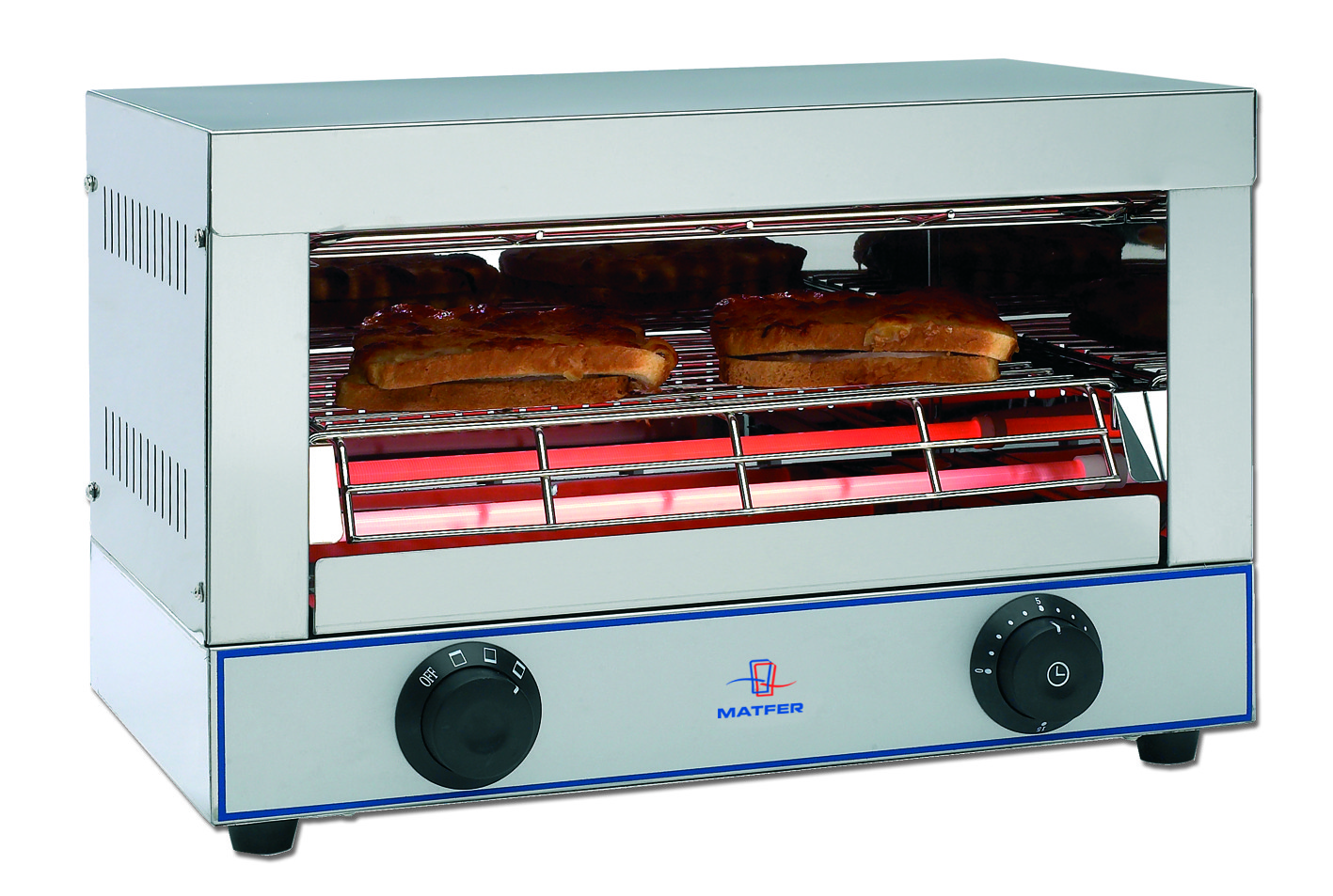 grill ou toasteur professionnel 1 tage ecolin matfer. Black Bedroom Furniture Sets. Home Design Ideas