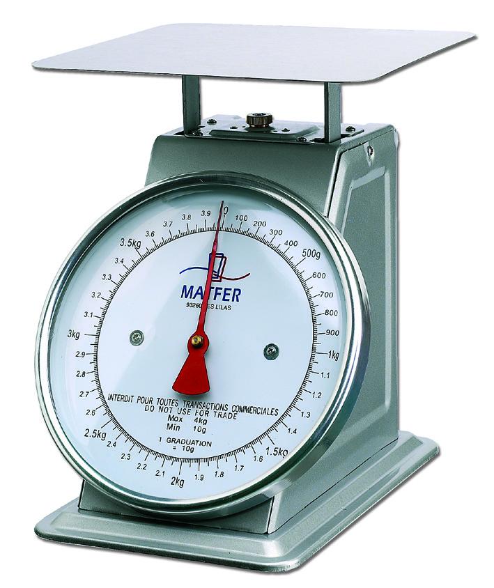 balance de cuisine professionnelle m 233 canique 50 kg matfer