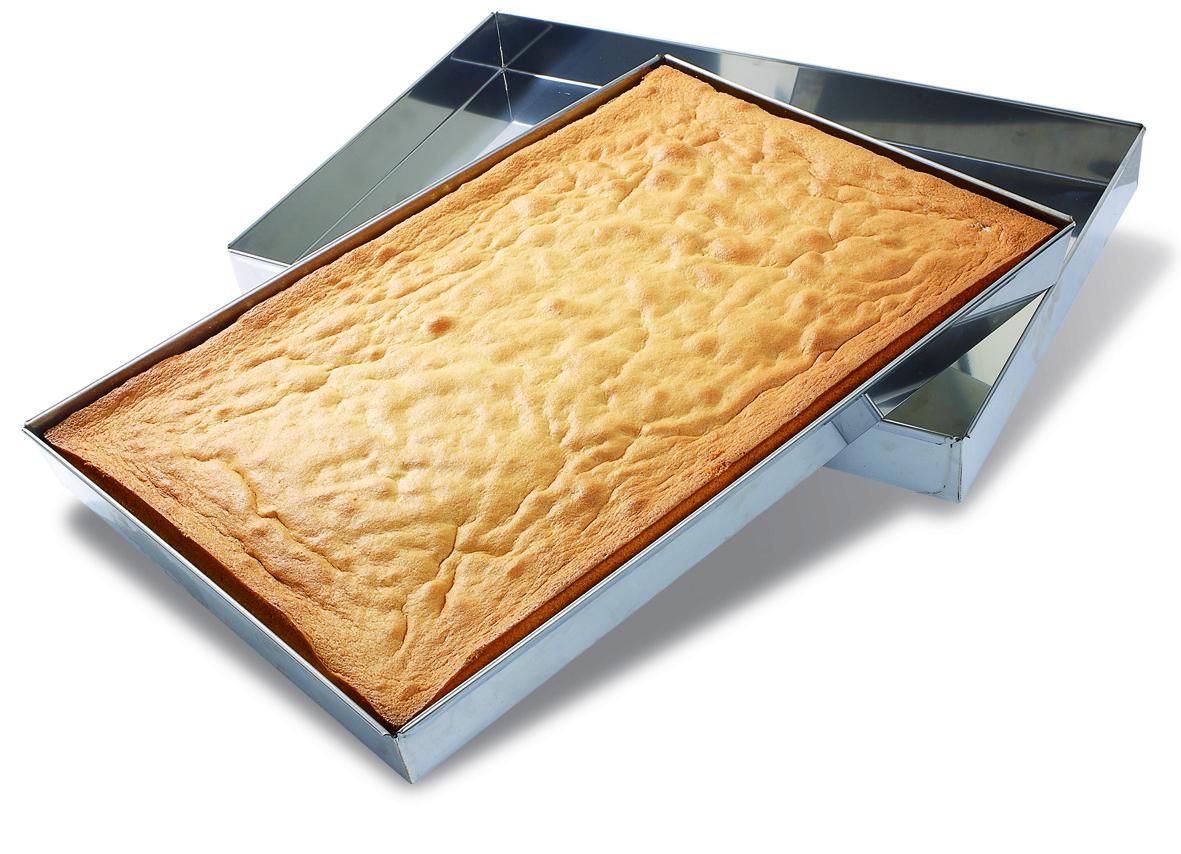 caisse moule g noise rectangle inox 60x40 cm matfer. Black Bedroom Furniture Sets. Home Design Ideas