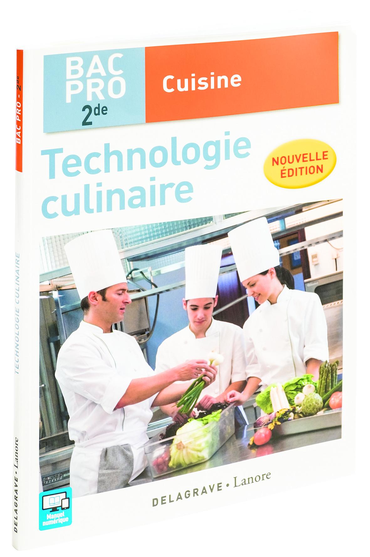 Livre technologie culinaire bac pro 2nde matfer - Technologie cuisine bac pro ...