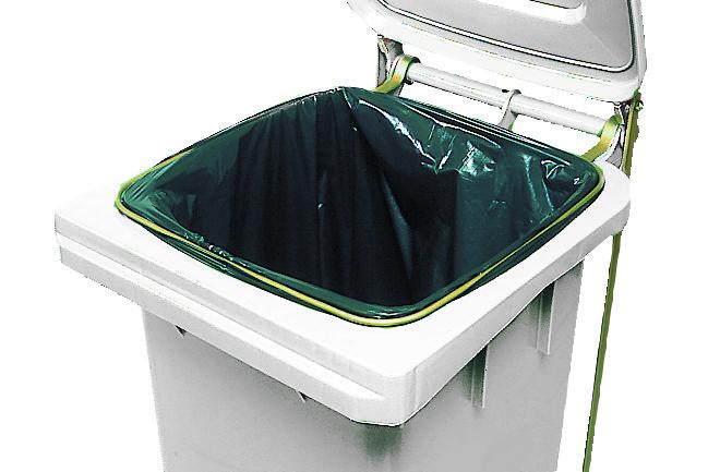 P dale anneau porte sacs pour poubelle 120 litres matfer for Porte sac poubelle cuisine