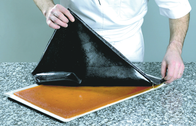 plaque de cuisson en silicone flexipan entremets demarle. Black Bedroom Furniture Sets. Home Design Ideas