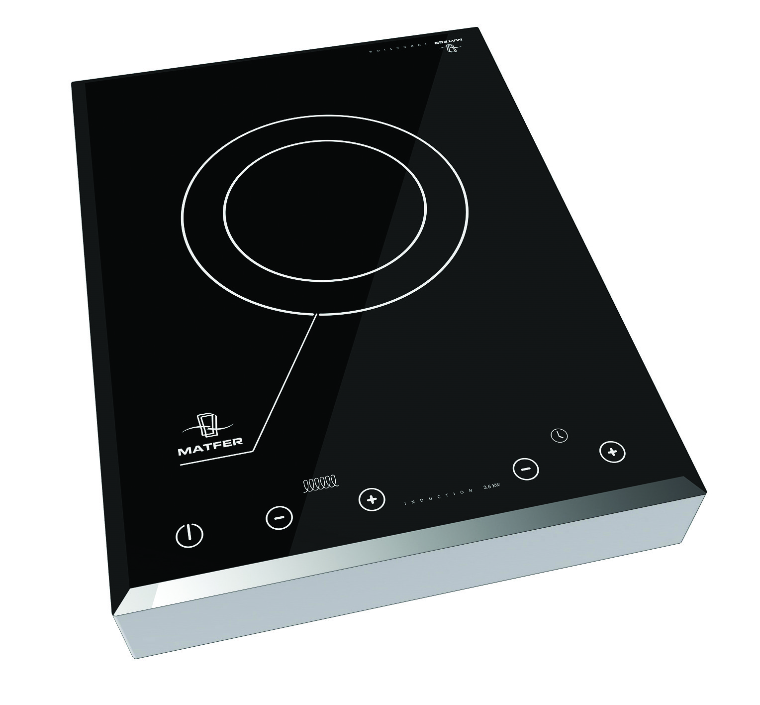 Plaque induction mobile usage intensif 3 5 kw matfer - Tache incrustee plaque induction ...