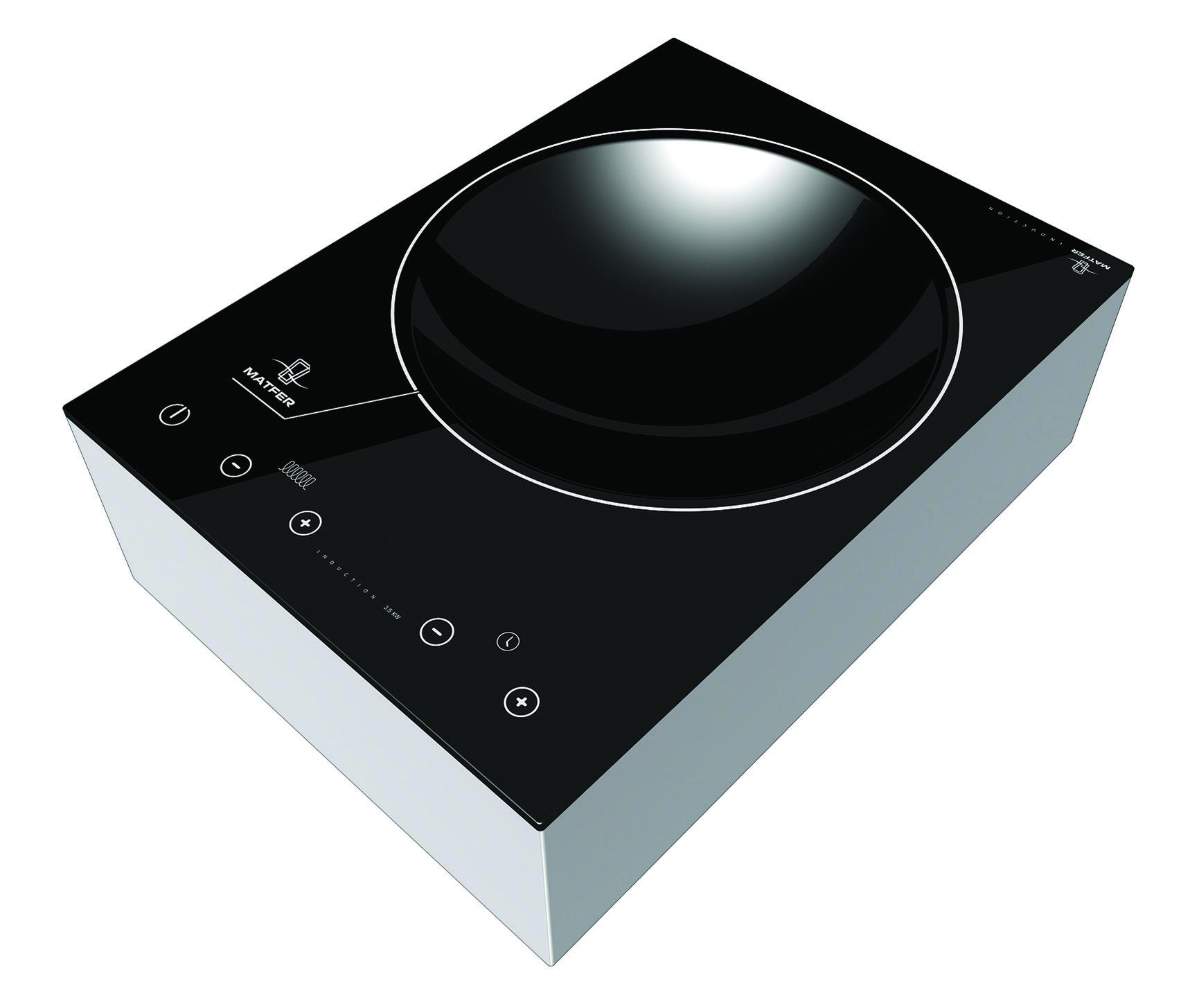 Plaque a induction professionnelle pour wok matfer - Plaque induction ou vitroceramique ...