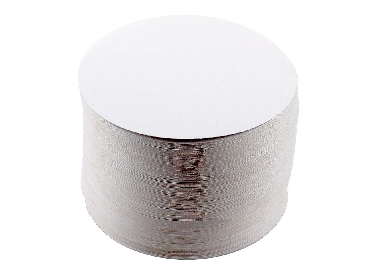 ronds carton blanc pour g teaux x 250 flo. Black Bedroom Furniture Sets. Home Design Ideas