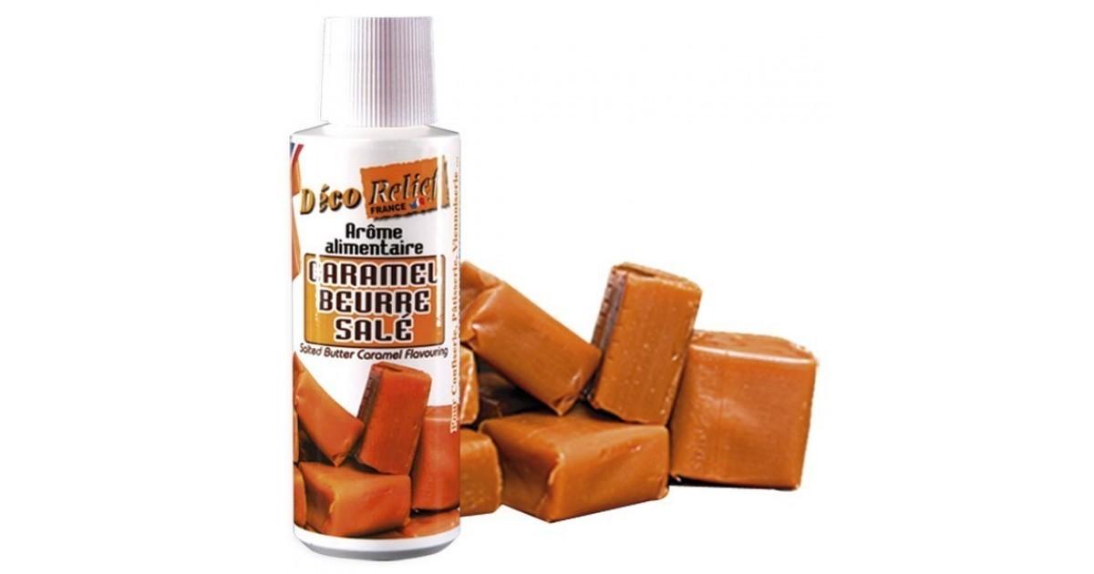 Arôme caramel beurre salé (alimentaire concentré) 125 ml