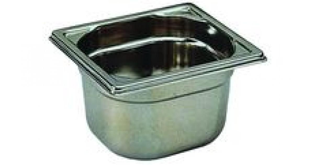 Bac de cuisine gastronorme 1 6 en inox 3 litres bourgeat for Bac de cuisine inox