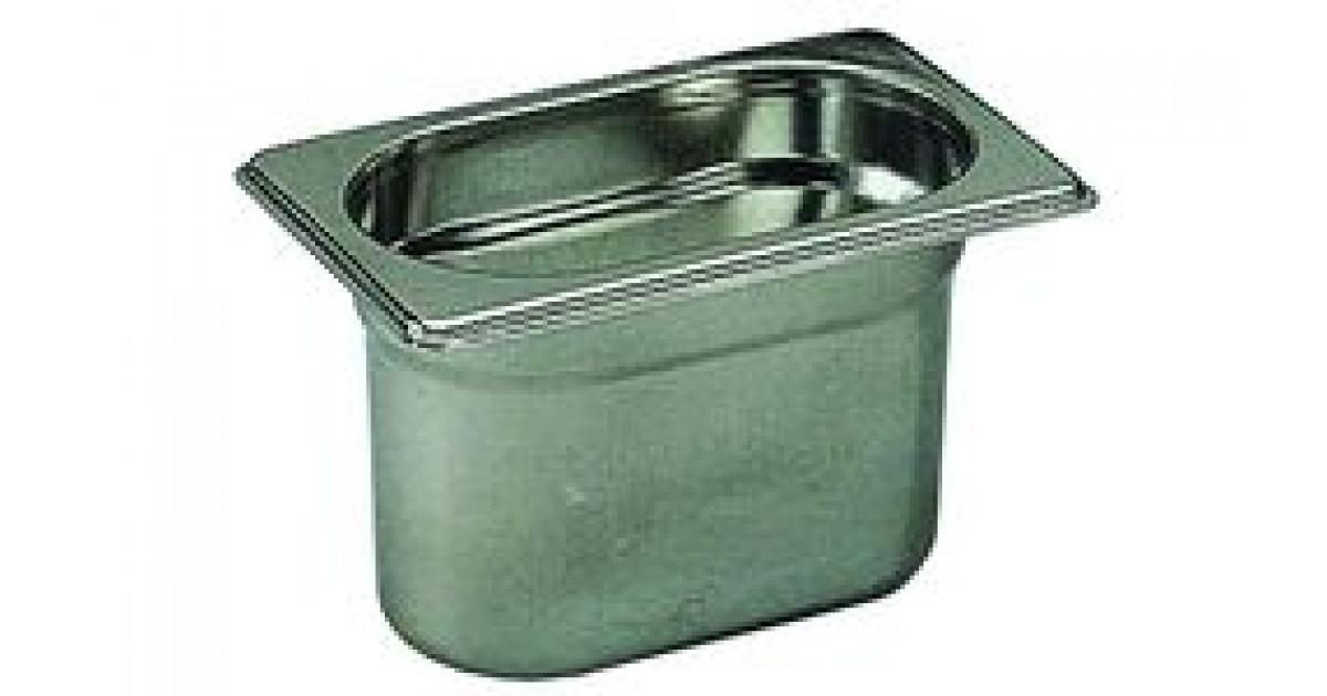 Bac de cuisine gastronorme 1 9 en inox 0 8 litre bourgeat for Bac de cuisine inox