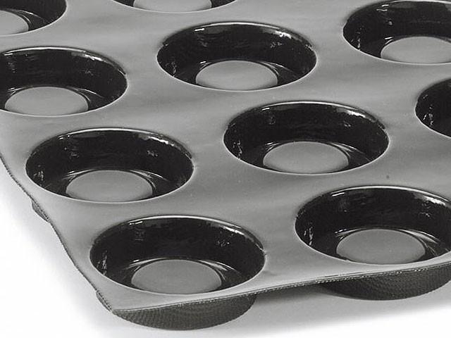 Moule A Tartelette Professionnel moule flexipan 24 tartelettes fond de pâte Ø 8 cm 60 x 40 cm