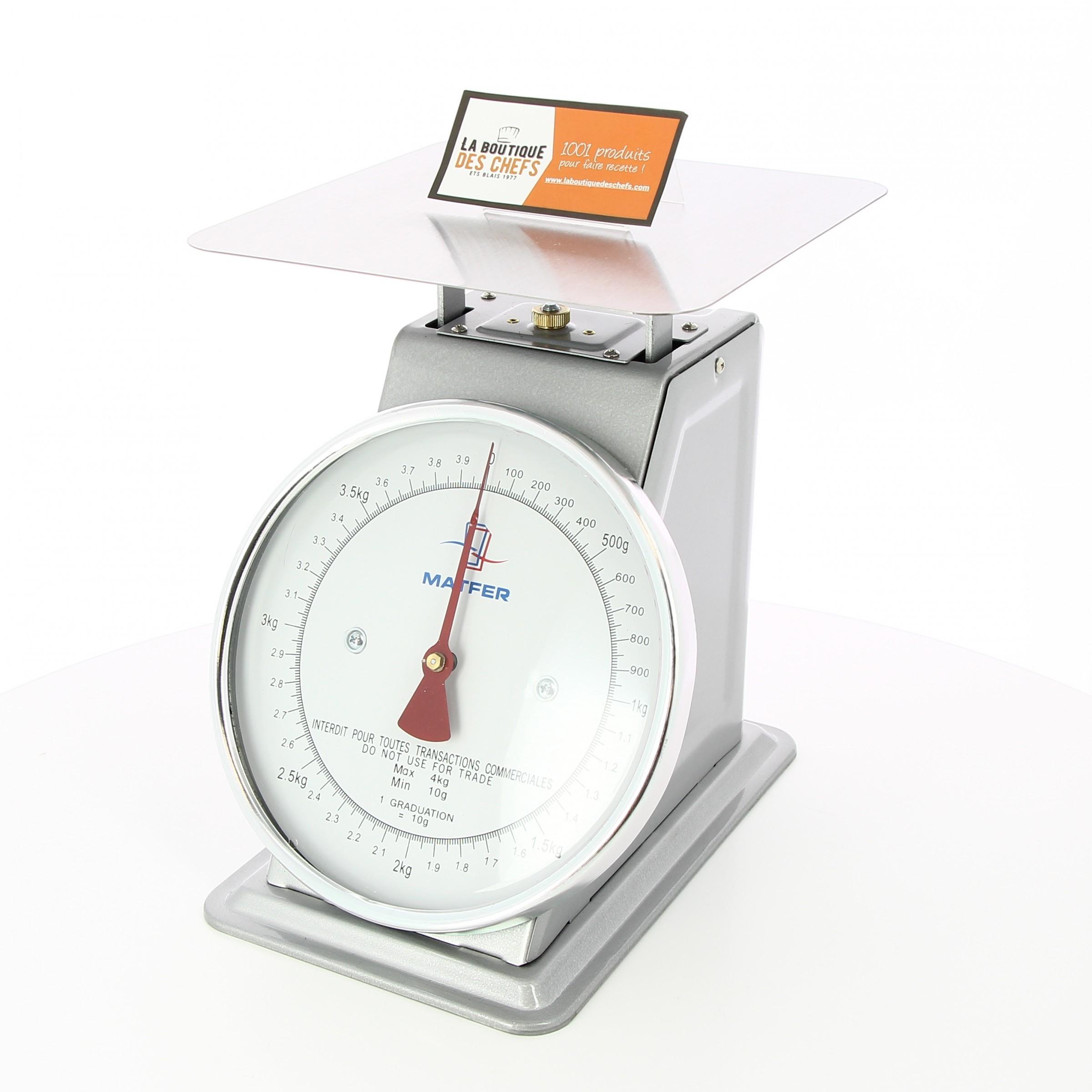 Balance De Cuisine Professionnelle Mecanique 4 Kg Matfer