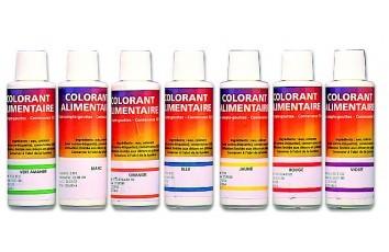 colorant liquide alimentaire 125 ml - Colorants Alimentaires Bio