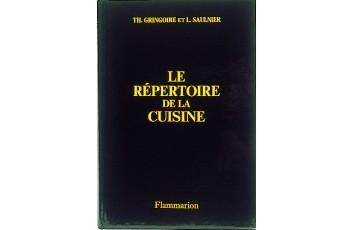Livres de cuisine et de recettes vari es for Repertoire de la cuisine