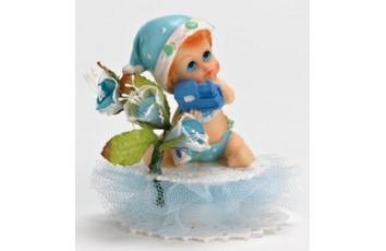 53acc47368dc4 Bébé bleu assis sur socle