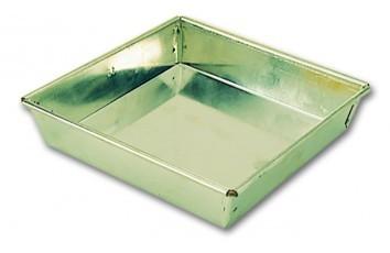 grande caisse rectangle droite g noise en fer blanc matfer. Black Bedroom Furniture Sets. Home Design Ideas