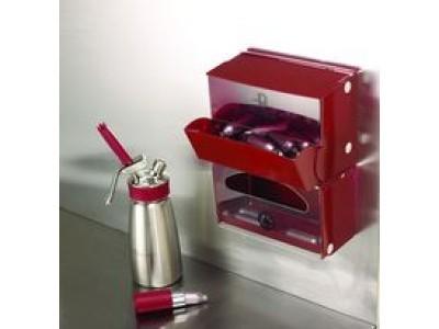 bo te de rangement pour capsules de gaz pour siphon de cuisine isi. Black Bedroom Furniture Sets. Home Design Ideas