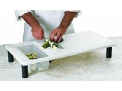 planche d coupe de cuisine avec bac matfer. Black Bedroom Furniture Sets. Home Design Ideas