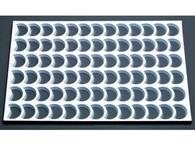 plaque plastique 78 d coupoirs croissants de lune matfer. Black Bedroom Furniture Sets. Home Design Ideas