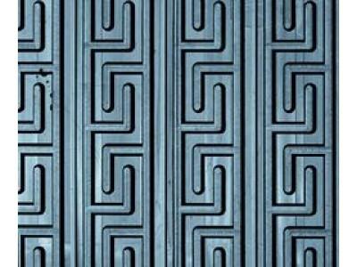 Tapis Relief Silicone Petite Frise Grecque 57 X 36 5 Cm Matfer
