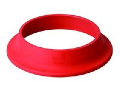 pied anti glisse elastom re rouge pour bassine cul de. Black Bedroom Furniture Sets. Home Design Ideas