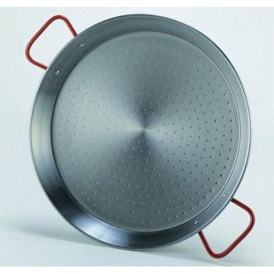 grand plat paella en acier poli matfer. Black Bedroom Furniture Sets. Home Design Ideas