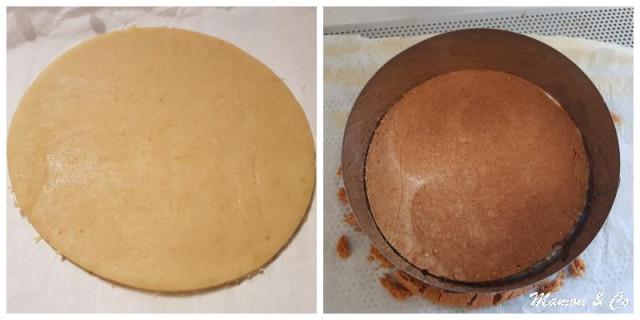 Première étape : le biscuit sablé