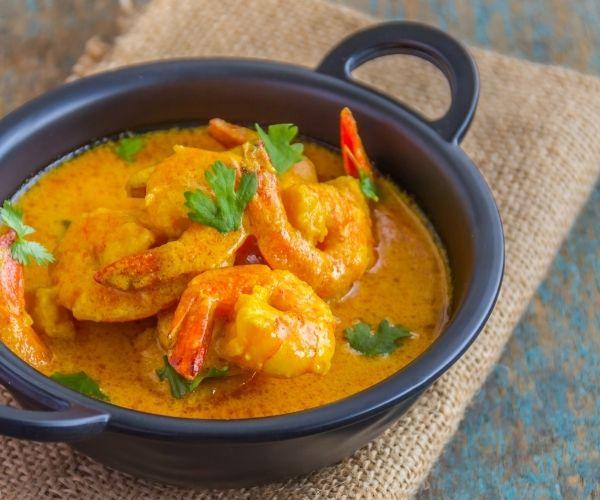 Curry de crevettes - recette fête des mères