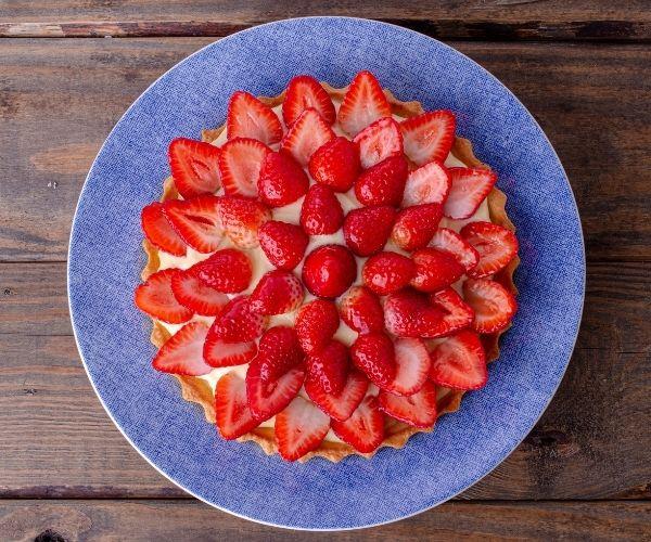 Tarte fraises & chocolat blanc - recette fête des mères