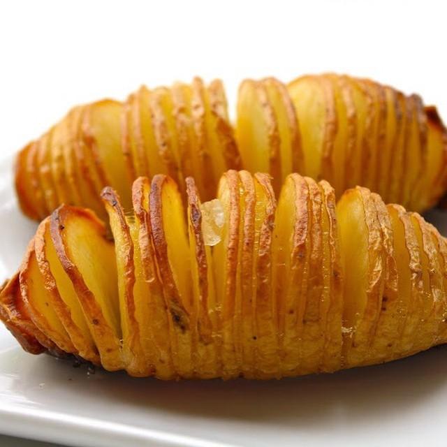Pommes de terre Hasselback - Photo : Glenn Dettwiler (CC)