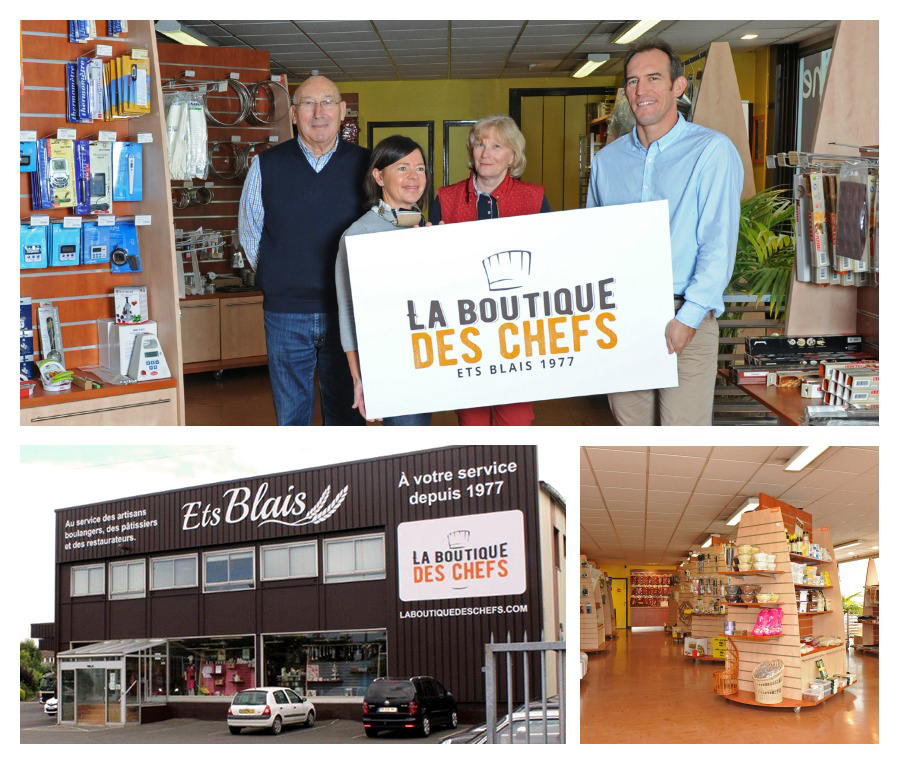 La Boutique des Chefs, son équipe et ses locaux