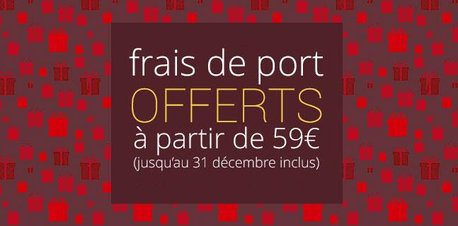 surpriiiise frais de port offerts d 232 s 59 d achat