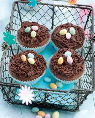 nids au chocolat